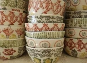 Ceramic cassrole bowls