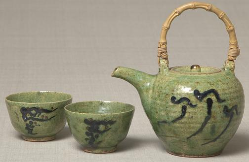 Tea set by Bernard Leach