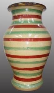 Kobashigawa Eishou tricolor vase